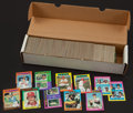 Baseball Cards:Sets, 1972 and 1975 Topps Baseball Collection (841) With '75 Near Set. ...