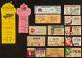 Baseball Collectibles:Tickets, Vintage Baseball Tickets Collection Lot Of 15 Including St LouisBrowns. ...
