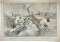 Political:Small Paper (pre-1896), Andrew Jackson: Exceptional Hand-Colored Cartoon....