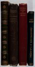 Books:Literature 1900-up, [Britain]. Group of Four Nineteenth and Early Twentieth-CenturyBooks of Poetry. Various, 1817-1923. Good or better conditio...(Total: 4 Items)