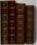 Books:Fine Bindings & Library Sets, [Leather Bindings]. Group of Four Nineteenth and EarlyTwentieth-Century Books with Leather Bindings. Various, 1861-1901.Go... (Total: 4 Items)