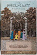 Books:Art & Architecture, Edward Gorey. The Dwindling Party. Random House, 1982. First edition, first printing. Pop-up book. Minor rubbing and...