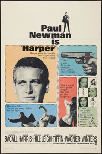 "Harper and Other Lot (Warner Brothers, 1966). One Sheets (2) (27"" X 41""). Crime. ... (Total: 2 Items)"