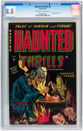 Golden Age (1938-1955):Horror, Haunted Thrills #9 (Farrell, 1953) CGC VF+ 8.5 Off-white to whitepages....