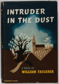 Books:Literature 1900-up, William Faulkner. Intruder in the Dust. Random House, 1948.First edition, first printing. Owner's name. Light foxin...