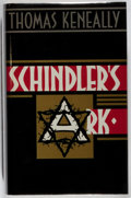 Books:Biography & Memoir, Thomas Keneally. Schindler's Ark. Hodder & Stoughton, 1982. First edition, first printing. Price-clipped. Slight lea...
