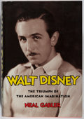 Books:Biography & Memoir, Neal Gabler. SIGNED. Walt Disney. Knopf, 2006. Firstedition, first printing. Signed by the author. Minor rubbin...