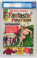 Silver Age (1956-1969):Superhero, Fantastic Four Annual #1 (Marvel, 1963) CGC VF/NM 9.0 Cream to off-white pages....