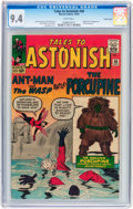 Silver Age (1956-1969):Superhero, Tales to Astonish #48 Pacific Coast pedigree (Marvel, 1963) CGC NM 9.4 White pages....