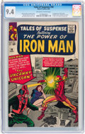 Silver Age (1956-1969):Superhero, Tales of Suspense #56 (Marvel, 1964) CGC NM 9.4 Off-white to white pages....