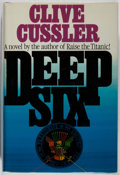 Books:Mystery & Detective Fiction, Clive Cussler. Deep Six. Simon and Schuster, 1984. Firstedition, first printing. Slight lean. Mild toning and rubbi...
