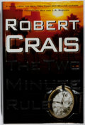Books:Mystery & Detective Fiction, Robert Crais. SIGNED. The Two Minute Rule. Simon &Schuster, 2006. First edition, first printing. Signed by th...