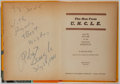 Books:Fiction, Brandon Keith. INSCRIBED BY ROBERT VAUGHN. The Man FromU.N.C.L.E. Whitman, 1966. First edition, first printing. S...