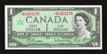 Canadian Currency: , BC-45bA-i $1 1967 Replacement Note. ...