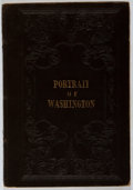 Books:Biography & Memoir, Charles Fox. A Portrait of George Washington. Crocker &Brewster, 1851. First edition, first printing. Toning and of...
