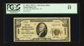 National Bank Notes:Virginia, Blackstone, VA - $10 1929 Ty. 1 The First NB Ch. # 9224. ...