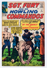 Sgt. Fury and His Howling Commandos #5 (Marvel, 1964) Condition: FN/VF