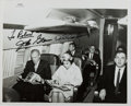 Autographs:Military Figures, [Mercury Astronauts]. Photograph Signed by John Glenn (1921- ) and Deke Slayton (1924-1993). Approx. 8 x 10 inches. Includes...