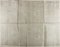 Books:Periodicals, [Civil War]. Group of Four Issues of the Cincinnati DailyCommercial Newspaper. Vol. XXII. Nos. 62, 106, 174, and ...(Total: 4 Items)