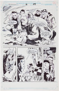 Original Comic Art:Panel Pages, Gene Colan and Fred Fredericks Clive Barker's The Harrowers#6 Page 29 Original Art (Marvel, 1994)....