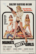 """Movie Posters:Crime, Mama's Dirty Girls (Premiere Releasing, 1974). One Sheet (27"""" X 41""""). Crime.. ..."""