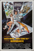 "Movie Posters:James Bond, Moonraker (United Artists, 1979). International One Sheet (27"" X41"") Style B. James Bond.. ..."