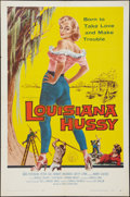 "Movie Posters:Bad Girl, Louisiana Hussy (Howco, 1959). One Sheet (27"" X 41""). Bad Girl....."