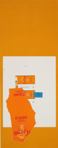 Fine Art - Work on Paper:Print, ROBERT MOTHERWELL (American, 1915-1991). Harvest, with Leaf, 1973. Color lithograph with paper collage and pochoir. 35-1... (Total: 2 Items)