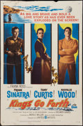 """Movie Posters:War, Kings Go Forth (United Artists, 1958). One Sheet (27"""" X 41""""). War....."""