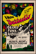 """Movie Posters:Rock and Roll, Musical Mutiny/Weekend Rebellion Combo (Cineworld, 1970). One Sheet(27"""" X 41""""). Rock and Roll.. ..."""
