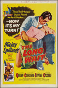 "Movie Posters:Film Noir, The Long Wait (United Artists, 1954). One Sheet (27"" X 41""). Film Noir.. ..."