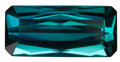 Gems:Faceted, FINE GEMSTONE: INDICOLITE (BLUE TOURMALINE) - 8.05 CT. ...