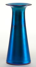 Art Glass:Other , A DURAND GLASS VASE . Newark, New Jersey, circa 1900. Marks:DURAND, 1713. 7 inches high (17.8 cm). ...