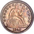 Seated Dimes, 1849-O 10C MS62 NGC....