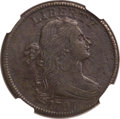 Large Cents, 1797 1C Reverse of 1797, No Stems -- Environmental Damage -- NGCDetails. AU. S-133, B-29, R.5....