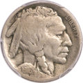 Buffalo Nickels, 1916 5C Doubled Die Obverse VG10 PCGS. FS-101....