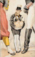 "Prints, BRITISH ARTIST (19th Century). ""Un roi constitutionnel"", LeopoldII, King of Belgium, October 9, 1869. Vanity Fair chrom..."