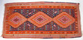 Rugs & Textiles:Hook Rugs, A KILIM WOOL RUG . 20th century. 137 x 63 inches (348.0 x 160.0cm). Elton Hyder III Collection Formerly at the University...