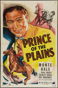 """Movie Posters:Western, Prince of the Plains (Republic, 1949). One Sheet (27"""" X 41""""). Western.. ..."""
