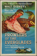 """Movie Posters:Documentary, Prowlers of the Everglades (RKO, 1953). One Sheet (27"""" X 41""""). Documentary.. ..."""
