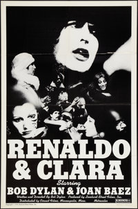 "Renaldo and Clara (Circuit Films, 1978). One Sheet (27"" X 40.5""). Drama"
