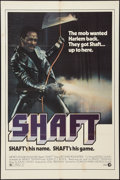 "Movie Posters:Blaxploitation, Shaft (MGM, 1971). One Sheet (27"" X 40.5""). Blaxploitation.. ..."