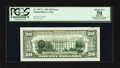 Error Notes:Third Printing on Reverse, Fr. 2073-L $20 1981 Federal Reserve Note. PCGS Apparent About New 50.. ...