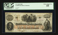 Confederate Notes:1862 Issues, T41 $100 1862. PF-5 Cr. 315. ...