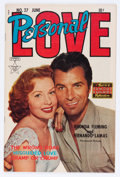 Golden Age (1938-1955):Romance, Personal Love #27 (Famous Funnies, 1954) Condition: VF....