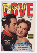 Golden Age (1938-1955):Romance, Personal Love #25 (Famous Funnies, 1954) Condition: FN+....