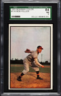 Baseball Cards:Singles (1950-1959), 1953 Bowman Color Bob Feller #114 SGC 84 NM 7....