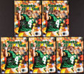 """Football Collectibles:Publications, Brett Favre Signed """"Sports Illustrated"""" Special Tribute Edition Magazines Lot of 5...."""