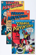 Golden Age (1938-1955):Science Fiction, Strange Adventures #11, 15, and 16 Group (DC, 1951-52).... (Total:3 Comic Books)