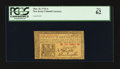 Colonial Notes:New Jersey, New Jersey March 25, 1776 1s PCGS New 62.. ...